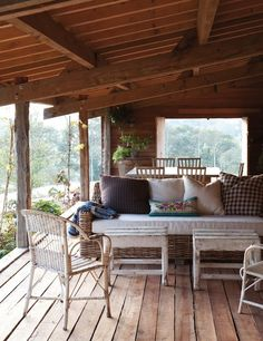 I want this porch, too
