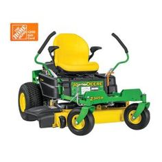 John Deere 42 in. 22 HP Gas Dual Hydrostatic Zero-Turn Riding Mower - California - The Home Depot Home Depot, John Deere 318, Zero Turn Lawn Mowers, John Deere Mowers, Lawn Equipment, Landscaping Equipment, Riding Lawn Mowers, Lawn Edging, Planting Vegetables