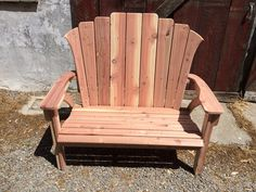 Find This Pin And More On Adirondack Furniture. Items Similar To California  Redwood ...