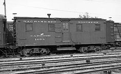 The earliest railroad cabooses, initially called ...