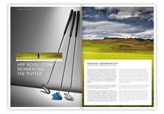 Kramski Putter by fg branddesign , via Behance Golf Pride, Corporate Identity, Behance, Branding, Visual Identity