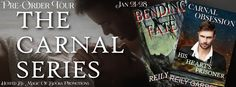 Blog Tour - Carnal Obsession & Bending Fate by Reily Garrett | Spreading the Word & GC Giveaway   #ReilyGarrett