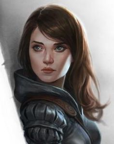f Rogue Thief or Ranger portrait female