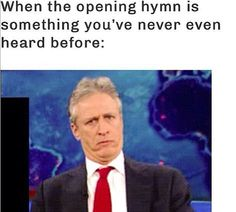 This has happened many times in my ward lol