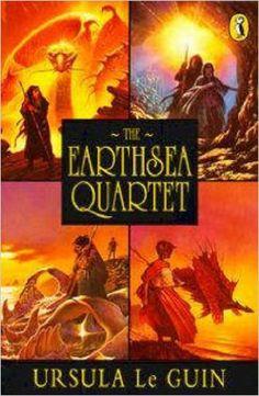 "Earthsea: The First Four Books: ""A Wizard Of Earthsea""; ""The Tombs of Atuan""; ""The Farthest Shore""; ""Tehanu"" (Puffin Books): Amazon.co.uk: Ursula Le Guin: 9780140348033: Books"