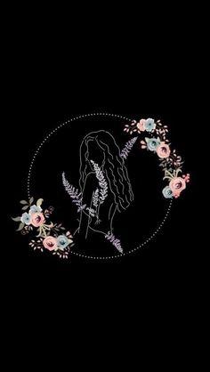 Moda Instagram, Instagram Frame, Instagram Logo, Instagram Design, Instagram Story Ideas, Galaxy Wallpaper, Black Wallpaper, History Tattoos, Flower Background Wallpaper