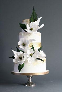 Magnolia | Wedding Cake design By Victoria Watkin–JonesWedding Cake design By Victoria Watkin–Jones