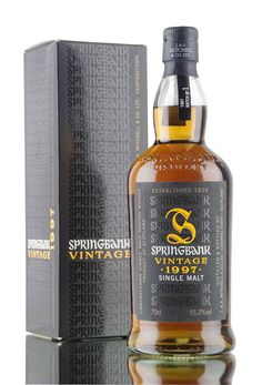 Distilled in 1997 aged for 10 years in re-charred sherry butts, this is Batch 1… Scotch Whiskey, Irish Whiskey, Bourbon Whiskey, Springbank Whisky, Whisky Jack, Whiskey Brands, Spiritus, Single Malt Whisky, Whiskey Bottle