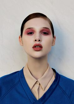 NAPLES - WEDNESDAY 12.01.11 photography PEPPE TORTORA realization LOTTA VOLKOVA ADAM ISSUE IV model ANAIS POULIOT at WOMEN hair STEFANO GATTI makeup AUGUSTO PICERNI both at WM MANAGEMENT