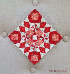Block 25 (revised) - Nearly Insane Quilt