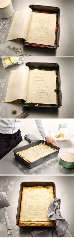 una tortilla con cara de libro