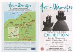 kara Seaman is at 'Art at Waunifor' Newcastle Emlyn, Where Are We Now, Newquay, End Of Summer, Kara, Pots, Blog, Blogging, Cookware