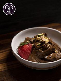 Raw Paleo Chocolate Mousse (Egg-Free) #paleo #primal #vegetarian #raw #PaleoPorn #recipe