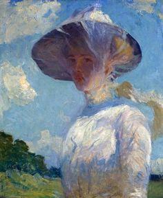 Frank+Weston+Benson+1862-1951+-+American+Impressionist+painter+-+Tutt'Art@+(2).jpg (613×750)