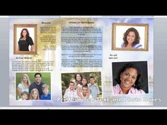 Check out The Funeral Program Site extensive video product library for all DIY templates and Memorials. Microsoft Publisher, Microsoft Word, Microsoft Office, Business Education Classroom, Computer Help, Video Library, Teaching Tips, Brochure Template, Business Tips