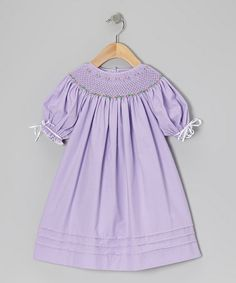 Take a look at this Purple & Pink Million Roses Bishop Dress - Infant & Toddler by Sweet Dreams on #zulily today!