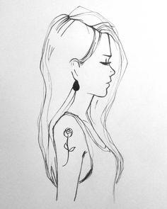 Flower #sketch #draw #drawing #drawings  #rotring #graphic  #graphics #grildraw #girldrawing #girl #girltattoo  #rose #roseminimal #rosetattoo #tattoo #minimaltattoo #artist #art #pencil #monochrome #dailysketch #femele #myart #pencilart #pencildraw #rajz #ceruza #tetoválás