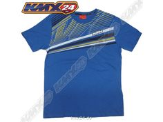 KTM Fastline Tee Blue T-Shirt