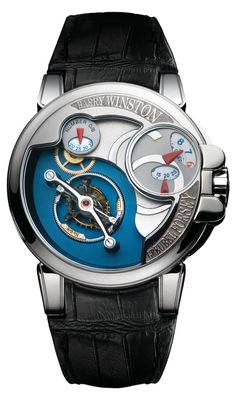 Greubel Forsey is a definitive force within the watchmaking world and the Opus 6 mixes their distinctive styling with a highly technical implementation of a double tourbillon featuring a fully hidden gear set so that the tourbillon appears to be completely separate from the mechanics of the watch.