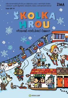 skolka-hrou-ZIMA Preschool, Comic Books, Park, Comics, Cover, Comic Strips, Parks, Comic Book, Nursery Rhymes