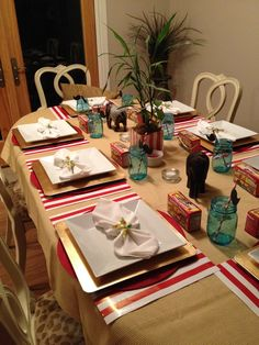 Circus Theme Adult Dinner Party