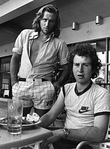 Not all of us on the team play tennis, but those of us that do grew up watching Bjorn Borg & John McEnroe... especially memorable were those times when McEnroe would throw a spectacular tantrum.