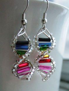 dna earrings - Buscar con Google