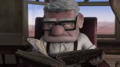 Disney Pixar Up - Picture Momentos - Carl & Ellie *WARNING* Have a tissue handy before pressing play!