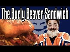 The Burly Beaver Sandwich - Epic Meal Time