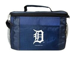 MLB 2014 6 Pack Cooler Lunch Tote (Detroit Tigers)