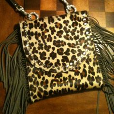 My new cross-body bag! Hopefully they'll be at Saddle Bags soon! LOVE!