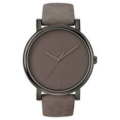 Timex Originals Watch with Suede Strap - Gray T2N7952B : Target