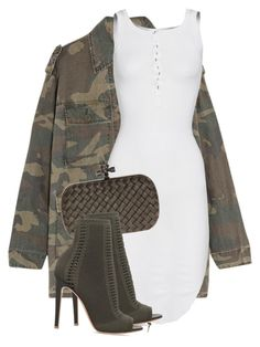 """Untitled #3502"" by xirix ❤ liked on Polyvore featuring Yves Saint Laurent, ISABEL BENENATO, Bottega Veneta and Gianvito Rossi"