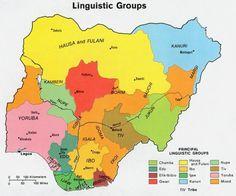 76 Best NIGERIA MAP images