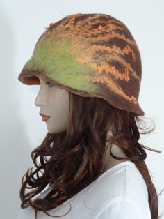 Fearlessly stylish funky asymmetric mocha brown & by whitebagheera