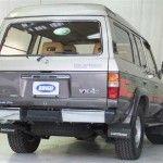 1988 Toyota Land Cruiser HJ61 Rear