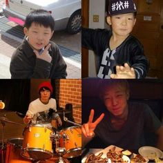 Eye Candy: Adorable childhood photos of YG Entertainment artists Kim Jinhwan, Chanwoo Ikon, Bobby Holup, Ikon Member, Jay Song, Ikon Debut, Boys Republic, Boy Idols, Double B