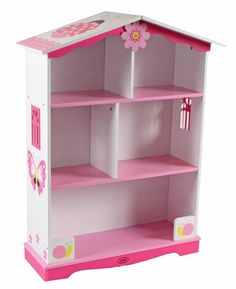 Doll House Bookcase Butterfly Large Jpg