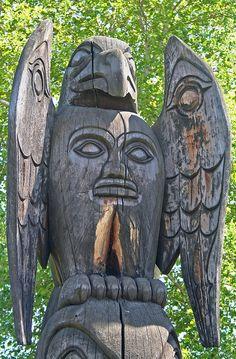 First Nations totem pole  by joybidge, via Flickr