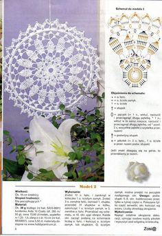 Mandala patron We are want to say thanks if you like to sh Easter Crochet, Crochet Round, Crochet Motif, Crochet Doilies, Crochet Lace, Doily Dream Catchers, Dream Catcher Boho, Doily Patterns
