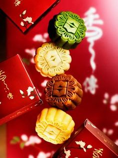 Mooncakes from the Shangri-La Hotels