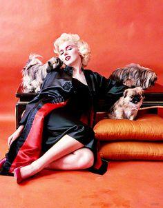 Marilyn Monroe by Milton Greene, 1955 °
