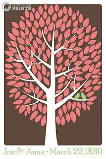 guest signature tree