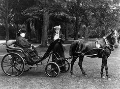 Helena Victoria with her grandmother Queen Victoria