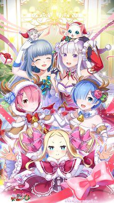 Blonde Anime Girl, Emo Anime Girl, Kawaii Anime Girl, Beatrice Re Zero, Zero Wallpaper, Ram And Rem, Anime Angel, Anime Artwork, Cute Anime Character