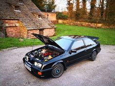 Cosworth compomotive th2 Ford Motorsport, Mid Size Car, Ford Sierra, Ford Classic Cars, Car Ford, Custom Cars, Jdm, Cars And Motorcycles, Cool Cars
