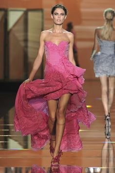 Ermanno Scervino Too skinny model though