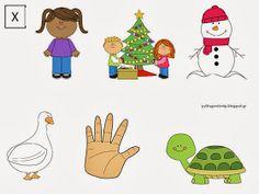 Έφτιαξα σπιτάκια της ΑΒ και εικόνες όπου στην αρχή θα καλούνται (σε 2-3 σπιτάκια) να βάλουν τη σωστή εικόνα στο σωστό σπιτάκι (πολλά προνή... School Clipart, Greek Alphabet, Clip Art, Comics, Blog, Fictional Characters, Pictures, Photos, Blogging