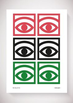 Olle Eksell _ Mazetti Cacao Eye design, a pictogram for the chocolate and confectionery manufacturer. Creative Design, Design Art, Print Design, Logo Design, Interior Design, Illustration Design Graphique, Illustration Art, Olle Eksell, Eye Art