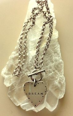 Vintage Handmade Sterling Silver Heart Pendant by MAGICALUNIVERSE